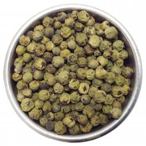 Green peppercorns vs Black peppercorns